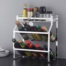 304不鏽鋼調料架子 廚房 家用 台面 三層調味品 收納置物架  降價兩天