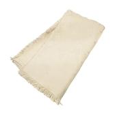 LOUIS VUITTON LV 路易威登 杏色羊毛混絲質大方披肩圍巾 140x140 scarf  M71330
