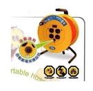 [家事達] HS-電精靈 大電流工業 動力電纜輪座-2孔 (2芯*2.0*70尺) 特價 雙過載保護器 延長線