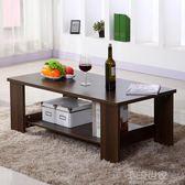 茶几簡約現代客廳邊幾家具儲物簡易茶几雙層木質小茶几小戶型桌子igo『潮流世家』