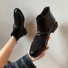 馬丁短靴女2020新款ins潮英倫風網紅瘦瘦鞋百搭學生粗跟切爾西靴 小山好物