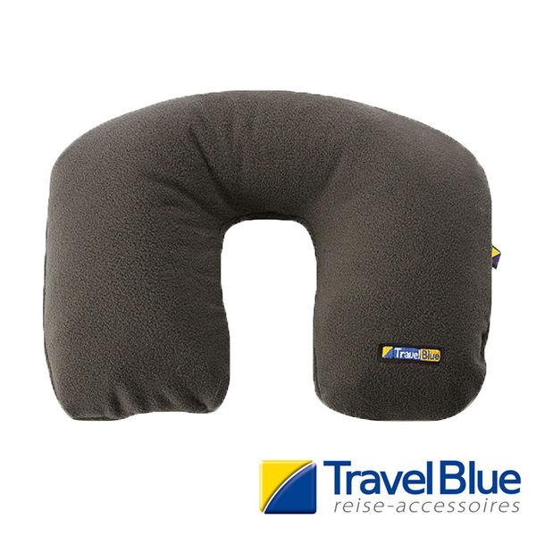 英國Travel Blue藍旅 Comfi-Pillow舒適型U型頸墊 深灰色 TB221A 護頸枕 │露營│旅遊│午睡│辦公│乘車