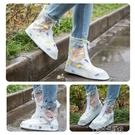 雨天防雨鞋套女加厚耐磨底防滑戶外徒步成人防水透明學生雨靴套鞋 小城驛站