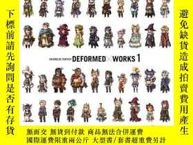 二手書博民逛書店碧藍幻想罕見作品集1 日文原版 GRANBLUE FANTASY DEFORMED×WORKS 1 Cygames