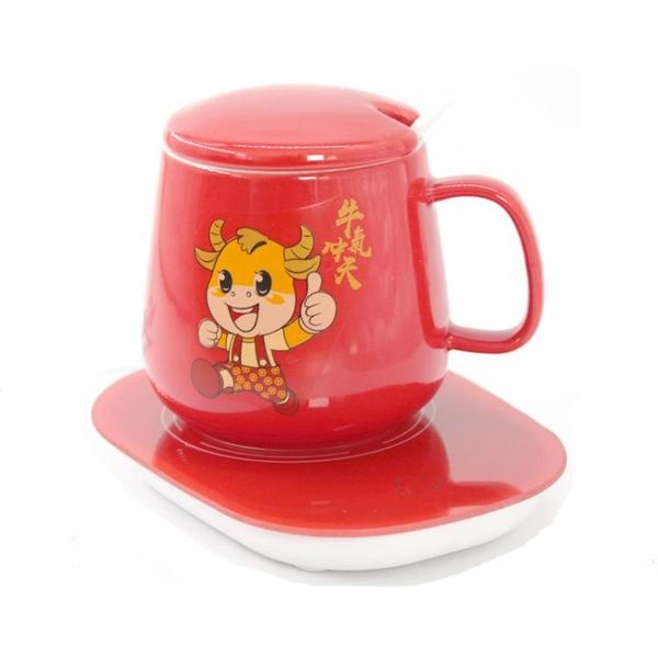 恒溫杯墊110V55度加熱墊發熱USB保溫杯墊定制禮盒暖杯茶杯墊底座 「限時免運」