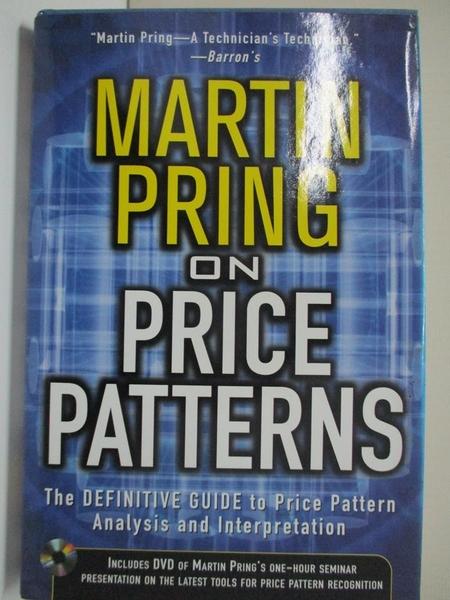 【書寶二手書T1/行銷_EJO】Martin Pring on Price Patterns: The Definitive Guide to Price…