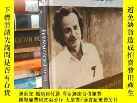 二手書博民逛書店Feynman s罕見Thesis: A New Approach to Quantum TheoryY354