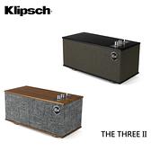 KLIPSCH 古力奇 THE THREE II 藍牙無線喇叭 胡桃木色 / 霧黑