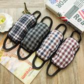 《J 精選》個性時尚韓版格子花色口罩(隨機出貨)