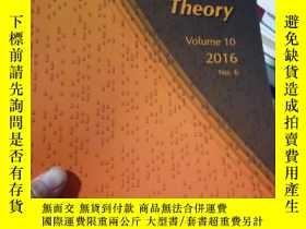 二手書博民逛書店Algebra罕見& Number Theory 2016 Vo