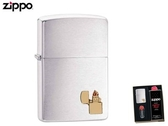 【寧寧精品】Zippo 原廠授權台中30年旗艦店 防風打火機 加送精美禮盒組 鍍鉻拉絲 經典款 4305-2