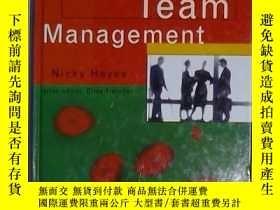 二手書博民逛書店英文原版罕見Successful Team Management