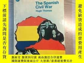 二手書博民逛書店THE罕見SPANISH CIVIL WAR HUGH THOM