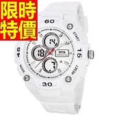 運動手錶-防水非凡休閒電子腕錶6色61ab30[時尚巴黎]