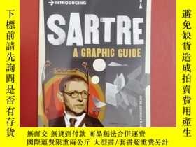 二手書博民逛書店Introducing罕見Sartre: A Graphic G