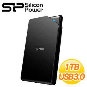 [nova成功3C]廣穎 Silicon Power 霧面黑 Stream S03 1TB USB3.0 2.5吋行動硬碟
