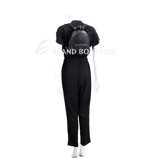 LONGCHAMP 2.0系列 迷你款小牛皮後背包(黑色) 1840679-01