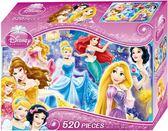 迪士尼公主 520片盒裝拼圖(B)