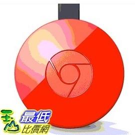 [美國直購] Google Chromecast 2.0 電視棒 紅色