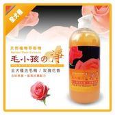 【毛小孩的淨】全犬除臭洗毛精-玫瑰花香- 1000ml(J833A02)