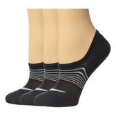 Nike耐吉- 女低切輕量3包組運動襪(黑色)