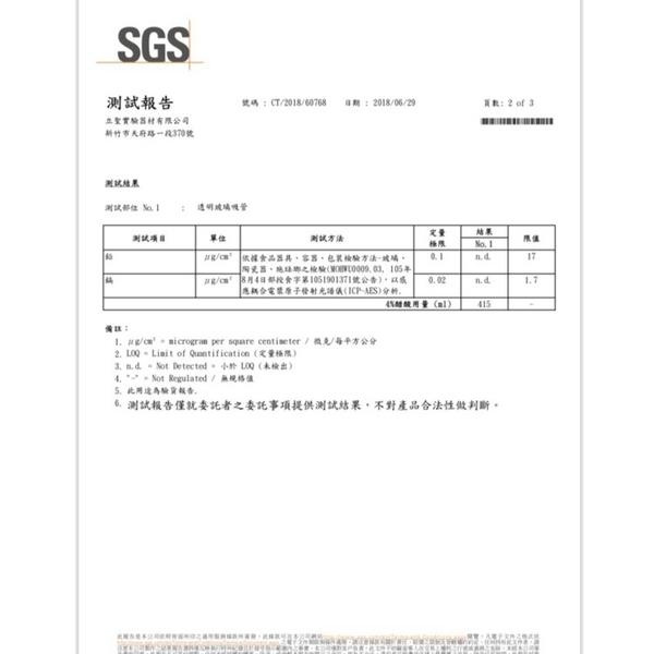 SGS檢驗  台製耐熱玻璃吸管組(平口) 環保玻璃吸管 手工製玻璃吸管 珍珠吸管 加厚玻璃吸管