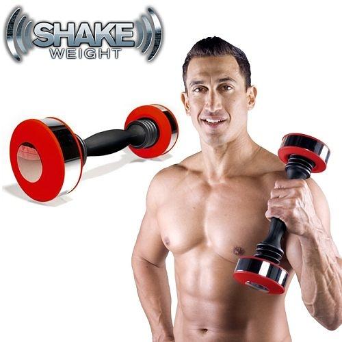 Shake Weight 男性專用搖擺鈴 旋風紅 A0790-006