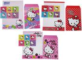 【卡漫城】Hello Kitty 信套組 ㊣版 凱蒂貓 三麗鷗 信封 信紙 附貼紙 三套組