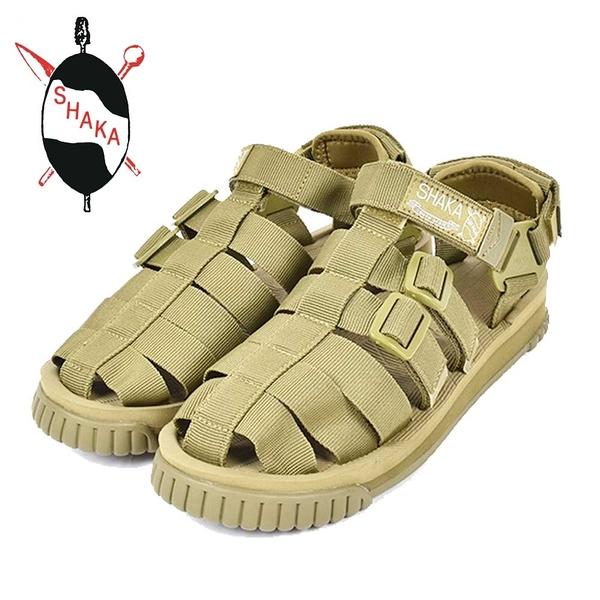 日本【SHAKA 】HIKER 中性涼鞋 軍綠