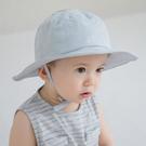 遮陽帽 正韓 Happy Prince 頭頂笑臉綁帶遮陽帽 棉帽 帽子 - 灰 Ans Sunhat