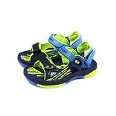 G.P(GOLD PIGEON) 涼鞋 防水 藍/綠 中童 童鞋 G0706B-26 no452