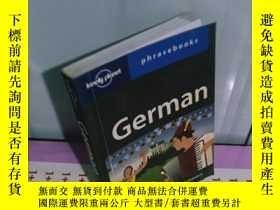 二手書博民逛書店罕見實拍;German:Lonely Planet Phrase
