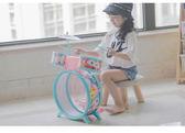 1-3歲初學者樂器男孩女孩大號敲打鼓生日兒童玩具禮物 歐亞時尚