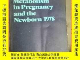 二手書博民逛書店英文書罕見carbohydrate metabolism in pregnancy and the neewbor