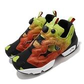 Reebok 休閒鞋 Instapump Fury OG 黑 紅 黃 炎元素 男鞋 復古慢跑鞋 【ACS】 FV1576
