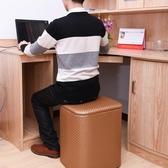 收納凳 簡約多功能收納凳實木可折疊坐人沙發儲藏物整理箱擱腳【星時代生活館】jy