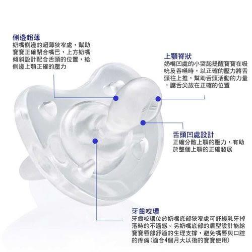 Chicco 矽膠 拇指型安撫奶嘴(0m+/4m+/12m+)[衛立兒生活館]