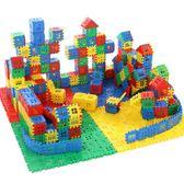 創意大塊房子積木拼裝5-6歲寶寶男孩兒童玩具塑料益智拼插早教