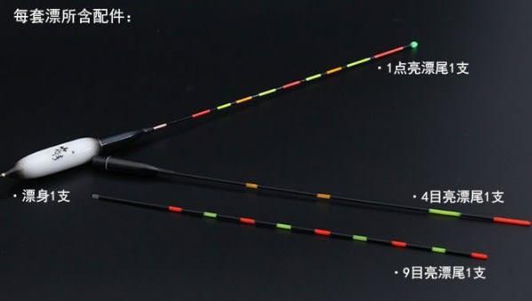 [協貿國際] 納米變色超亮充電浮標 3 個價
