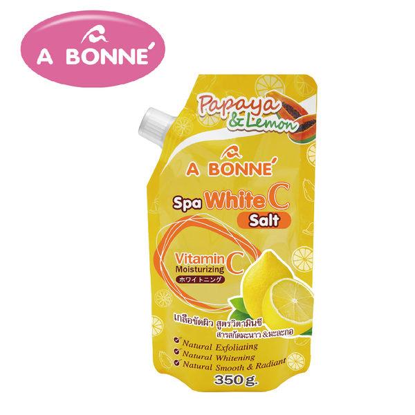 【A BONNE'】維他命C亮白SPA身體去角質沐浴鹽