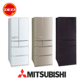 MITSUBISHI 三菱 MR-JX61C-RW-C  變頻六門電冰箱 605L 日本原裝 木紋棕/絹絲白/玫瑰金 公司貨 *運費另計