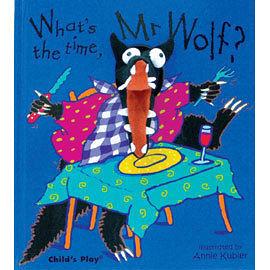 『說口好英文--第41週』『繪本123』-- WHAT'S THE TIME,MR.WOLF /英文繪本+CD《時間.歌唱》