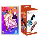 [哈GAME族]免運+刷卡 二合一搖滾組●NS Just Dance 舞力全開 2020 中文版 + JYS-NS163 跳舞腕帶