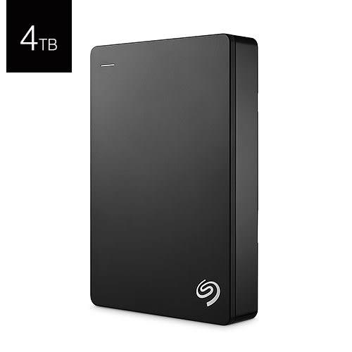 Seagate 希捷 Backup Plus Portable 4T B STDR4000300 黑色 USB3.0 2.5吋 行動 外接硬碟