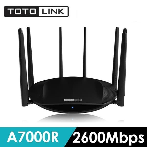 【南紡購物中心】TOTOLINK A7000R AC2600旗艦級雙頻Gigabit無線路由器