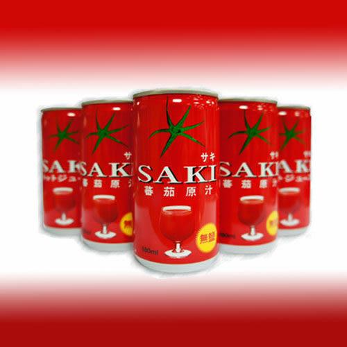 韓國 SAKI 無鹽 蕃茄汁/番茄汁(180ml*30瓶)【好食家】