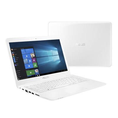 華碩 VivoBook (L402NA-0032AN3450) 14吋超值筆電(天使白)【Intel Celeron N3450 / 4GB / EMMC 32GB / Win 10】