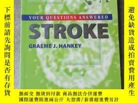 二手書博民逛書店Stroke:罕見Your Questions Answered