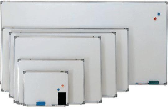 【磁性白板】 H115 高密度單磁白板/高級單磁白板 (1尺×1尺半)
