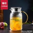 天喜冷水壺玻璃耐熱高溫防爆涼白開水杯家用大容量茶壺套裝涼水壺CY『新佰數位屋』
